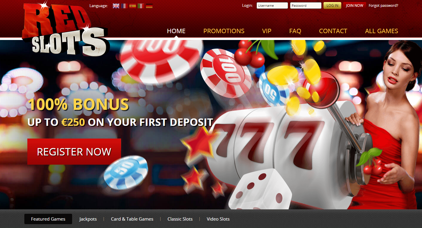RedSlots Casino Review